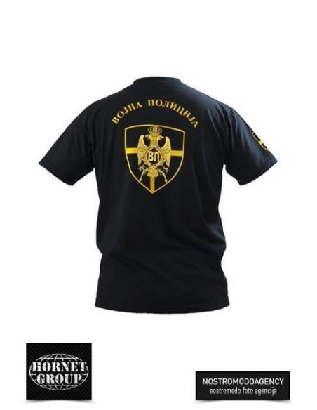 MILITARY POLICE T-SHIRT - BLACK