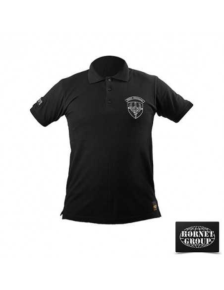 KOBRE - POLO T-SHIRT - BLACK
