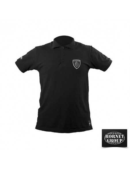 GENDARMERY - POLO T-SHIRT - BLACK