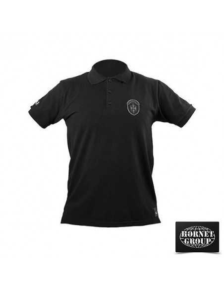 SAJ - POLO T-SHIRT - BLACK