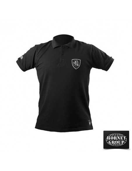 PTJ - POLO T-SHIRT - BLACK
