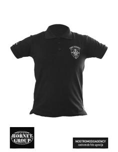 MILITARY POLICE - POLO T-SHIRT - BLACK