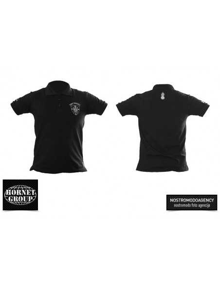 MILITARY POLICE - POLO T-SHIRT - BLACK