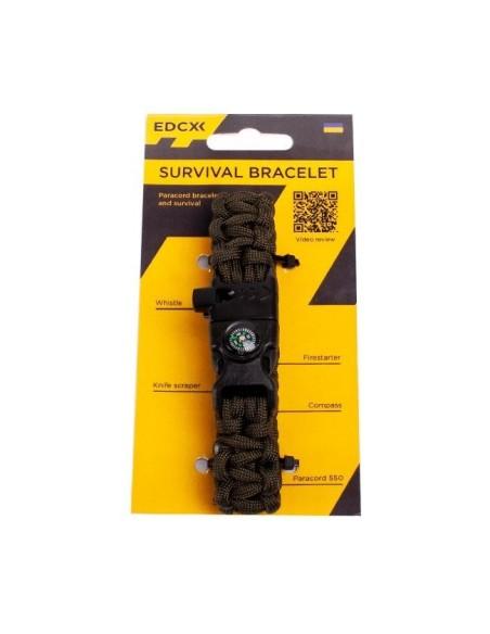PARACORD BRACELET FOR SURVIVAL